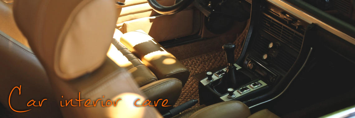 Car interior care