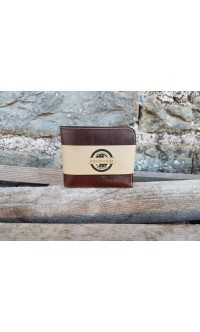 "Men's wallet ""BOB"" with zip coin-pocket"
