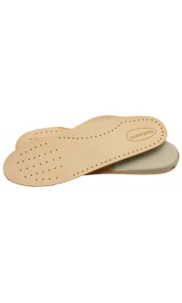 Anatomic kid's leather insole
